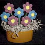 mini fun foam flowers