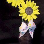 fun foam sunflowers