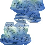 2012 Dodecahedron calendar - waves