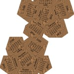 2012 Dodecahedron calendar - wood