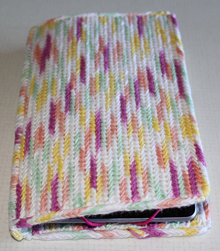 variegated cotton yarn - cover outside