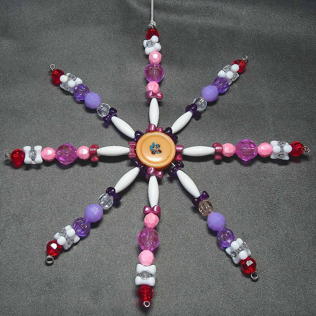 """7"""" star ornament"""