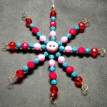 pink and blue 5 inch star