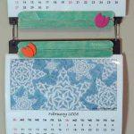 Floppy Frame Postcard Calendar