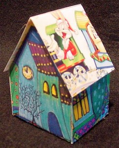 holiday card house 2