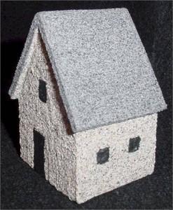 foam core boar house 1