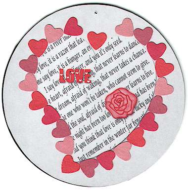 Love CD Valentine