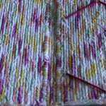 variegated cotton yarn - cover inside