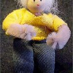 Minature Chenille Figure
