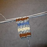knitting baby spiral socks