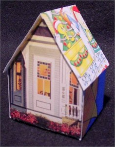 holiday card house 1