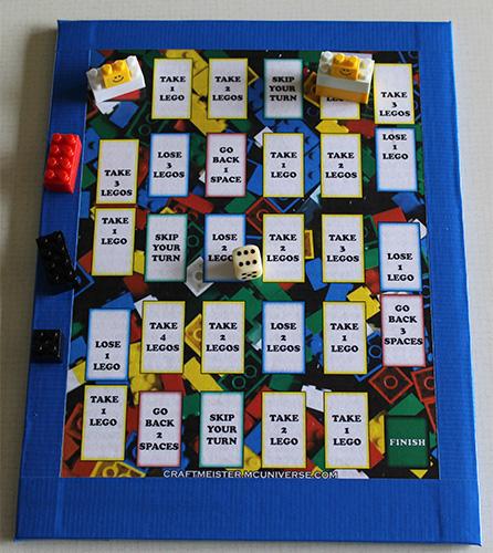 Homemade Board Game For Lego Blocks Marlies Creative Universe